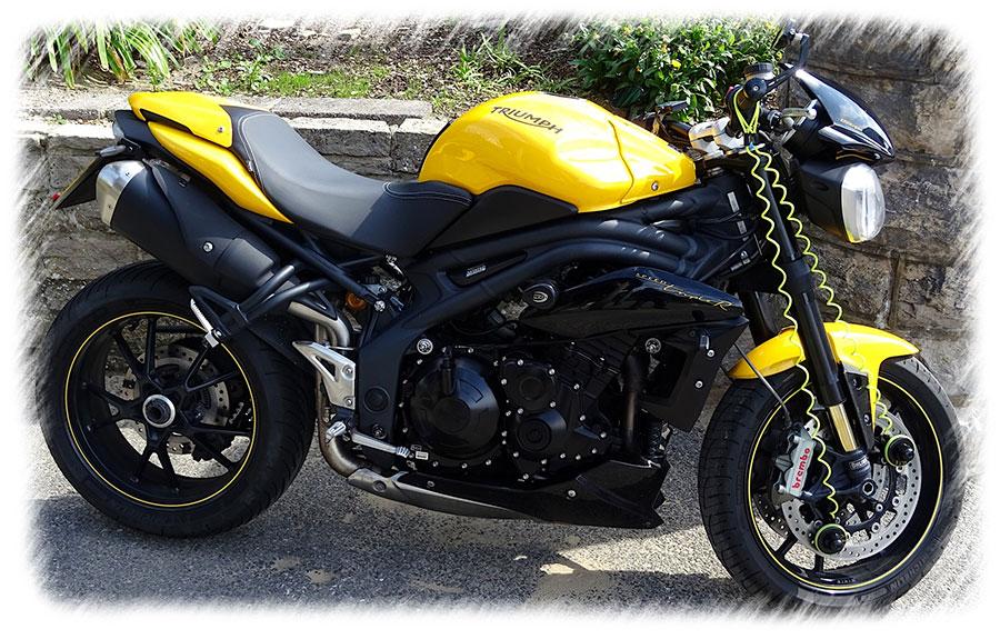 Funda para moto Triumph